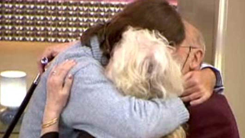 Maruchi y Paco volvían a sentir a su nieto