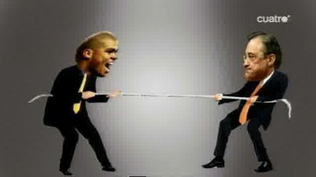 Pepe y Florentino: dos no renuevan si uno no quiere...
