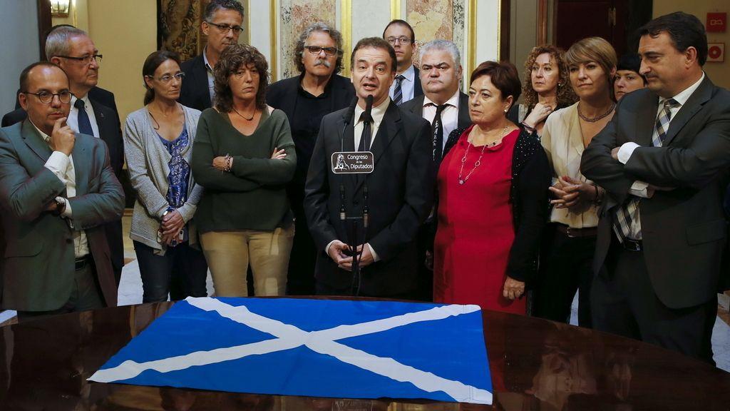 """Nacionalistas e independentistas expresan su """"envidia"""" de los escoceses"""