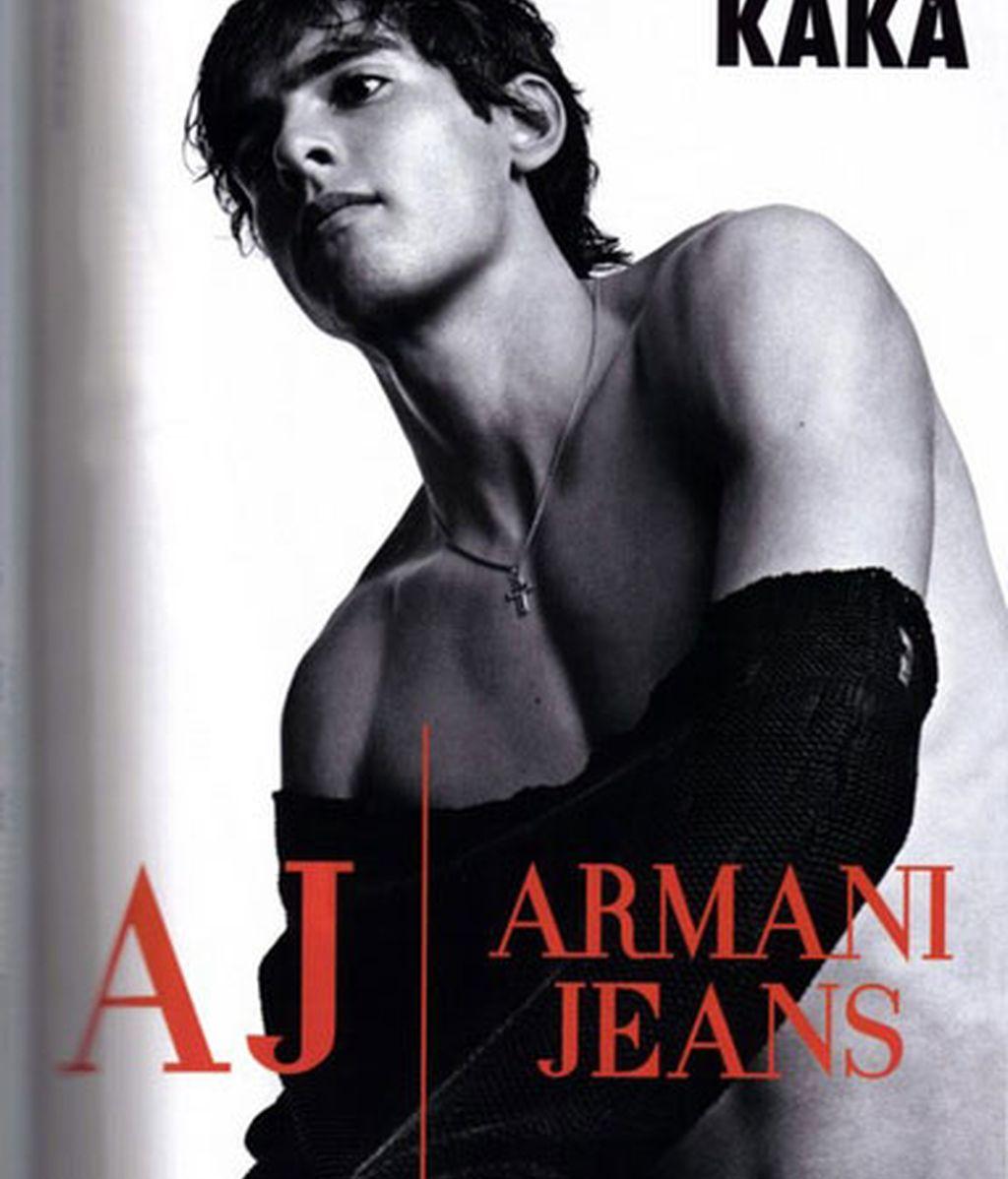 Nadal continúa con el idilio de Armani y los deportistas