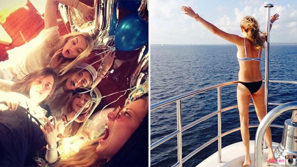 """""""Nos vamos a... ¡Wonderland!"""", escribía la modelo en Instagram"""