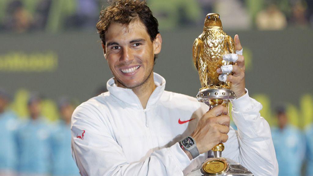 Nadal conquista Doha y se lleva el primer título de la temporada