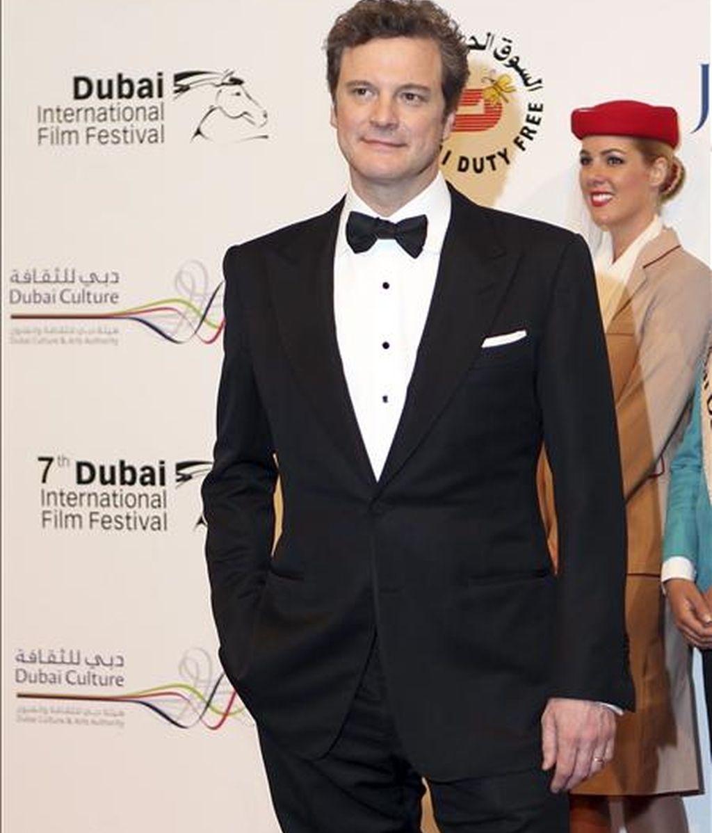 El actor británico Colin Firth. EFE/Archivo