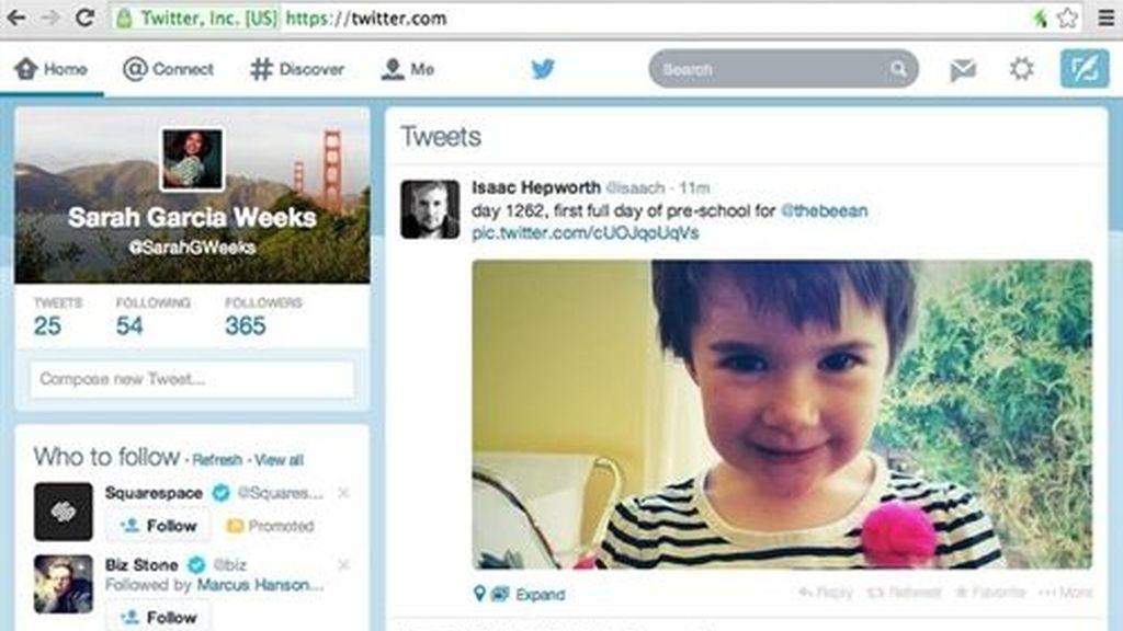 Twitter, interfaz gráfica