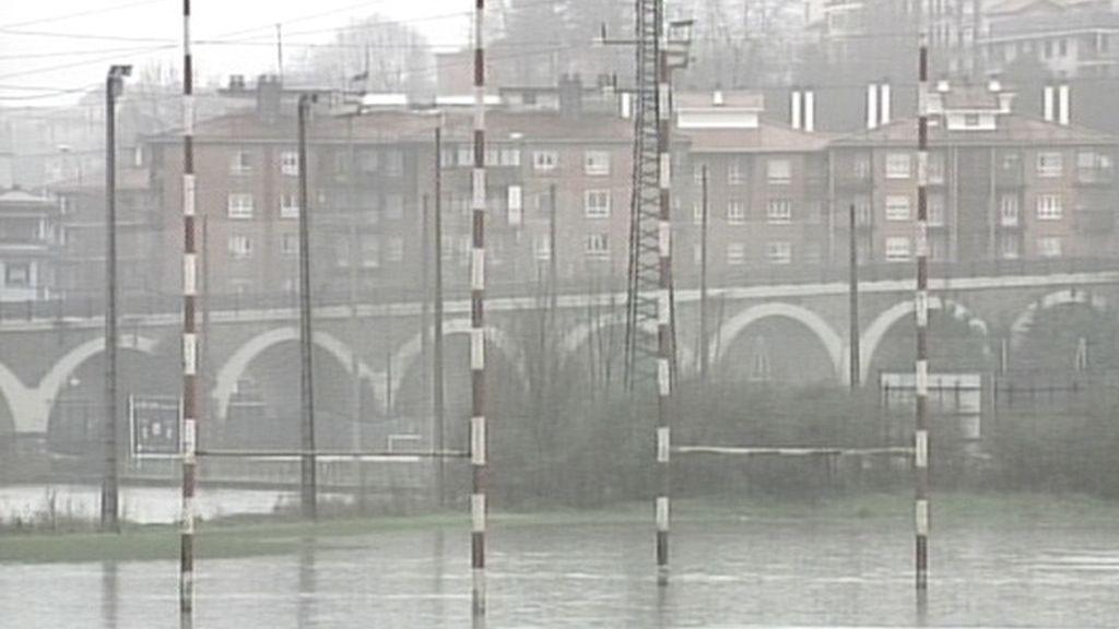 San Sebastián inundado