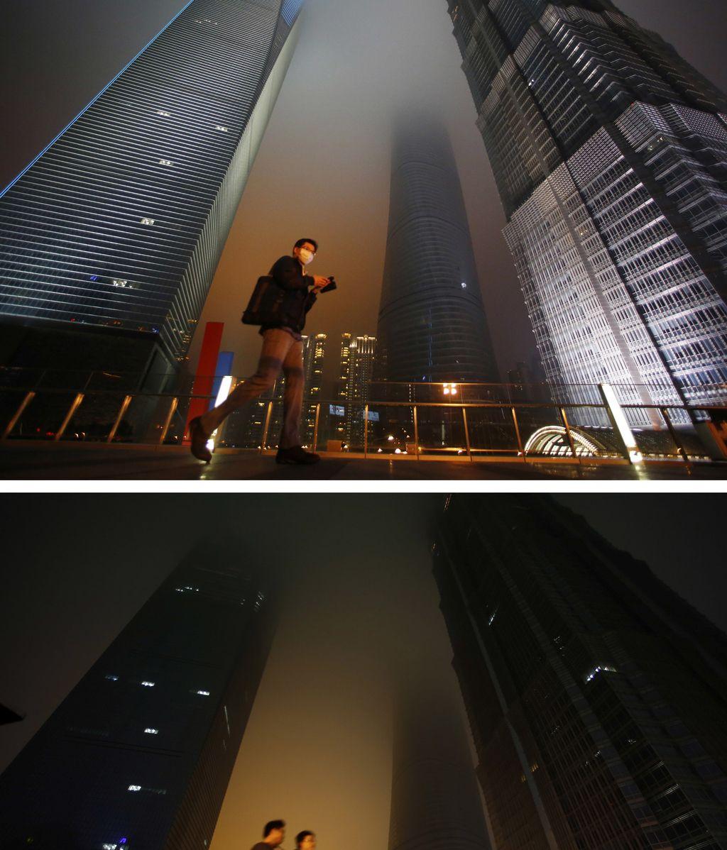 Distrito financiero de Shanghai