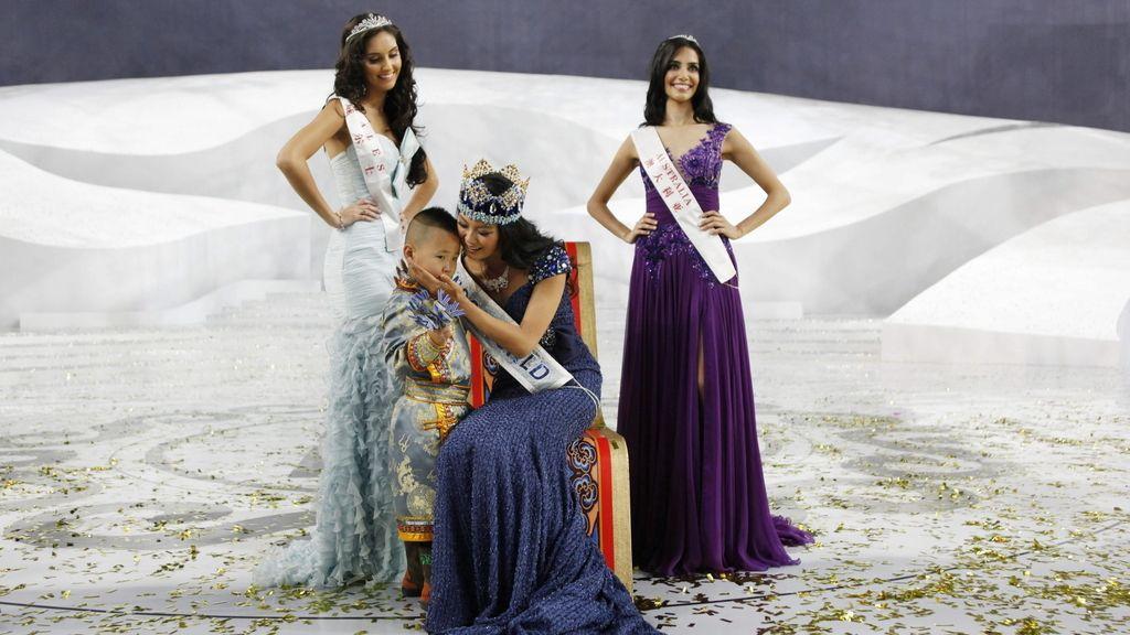 La china Wenxia YU, Miss Mundo 2012