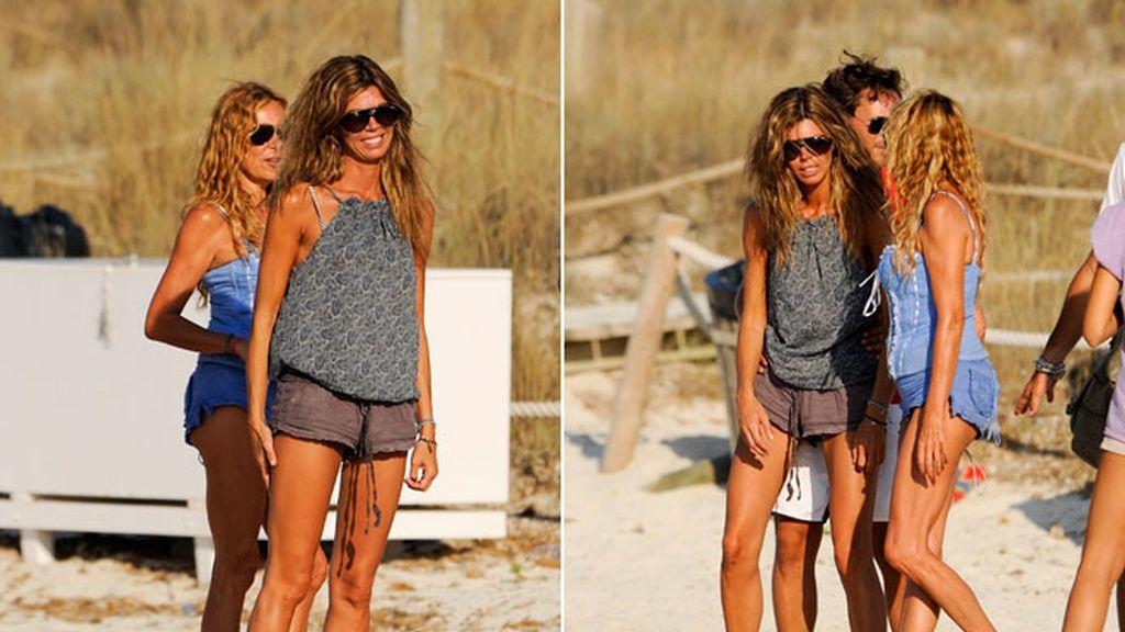 Eva Zaldívar y Ana Obregón: amigas por vacaciones