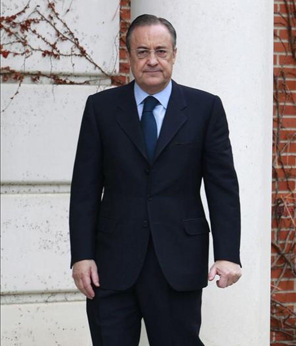 El presidente de ACS-Dragados, Florentino Pérez. EFE/Archivo