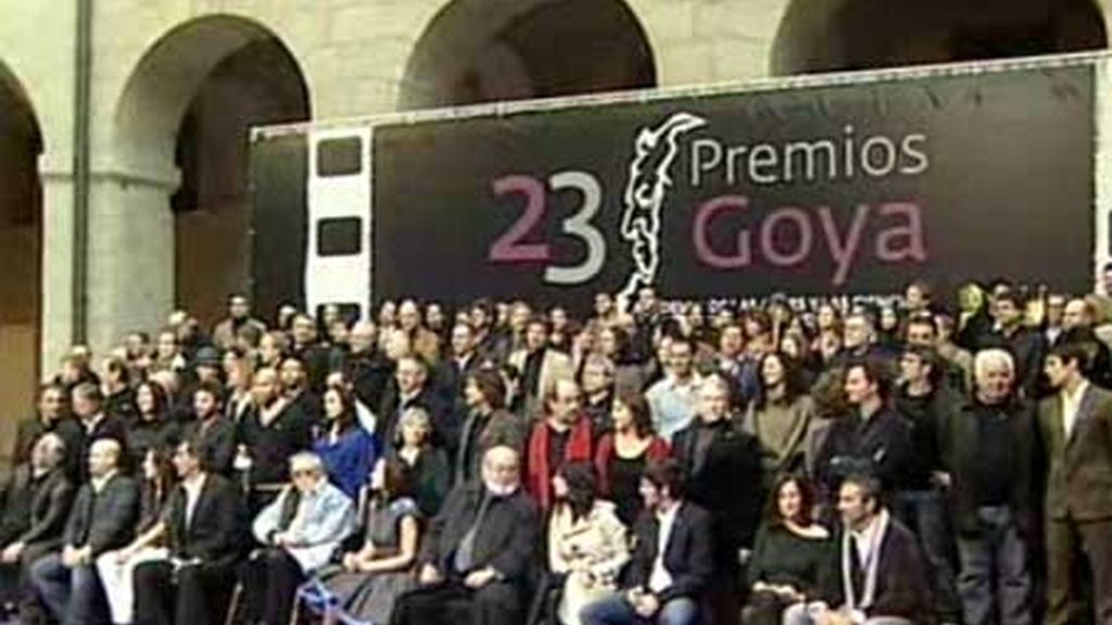 Los nominados, unidos en Madrid