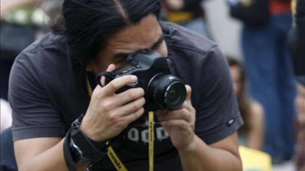 El festival PhotoEspaña inició la búsqueda de nuevas promesas de la fotografía en México D.F. y Lima, donde un jurado valorará los trabajos de 20 jóvenes latinoamericanos. EFE/Archivo
