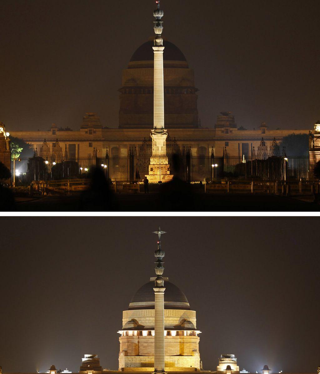 Casa presidencial del presidente hindú