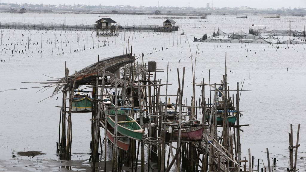 El tifón Yolanda llega a Filipinas