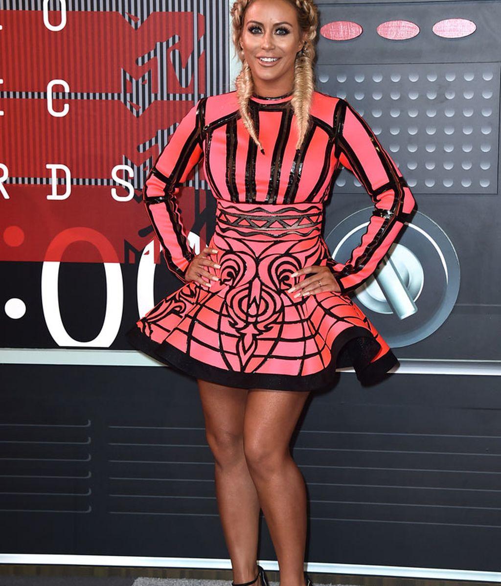 Aubrey O'Day en los premios MTV