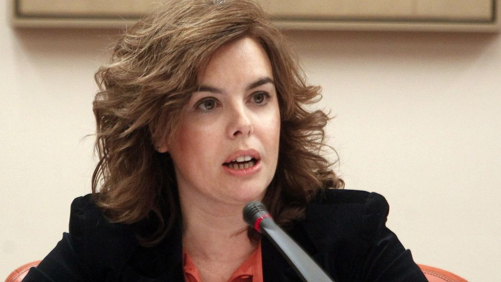 Comparecencia de la vicepresidenta del Gobierno, Soraya Sáenz de Santamaria