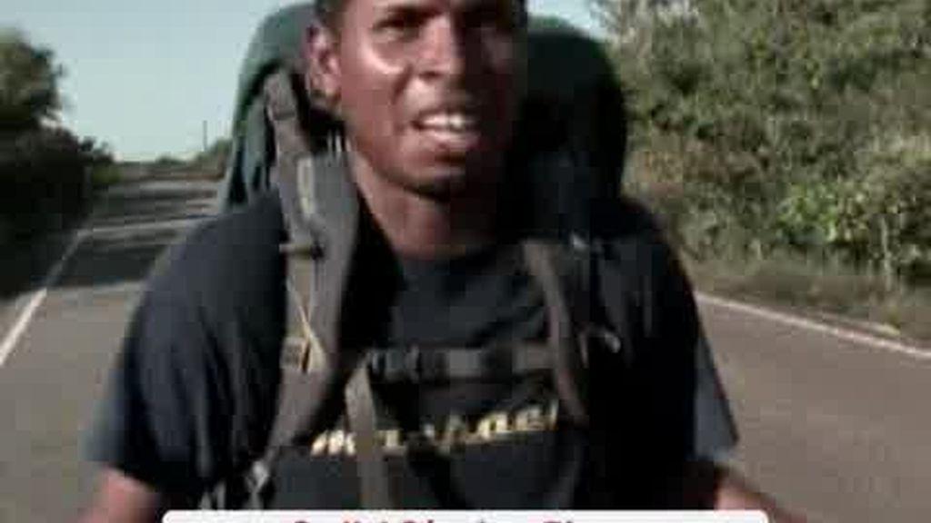 El primer hombre que recorre a pie el Amazonas