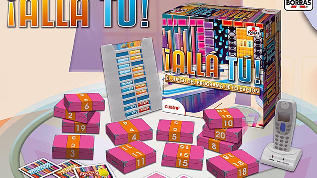 A la venta el nuevo juego de mesa de ¡Allá Tú!