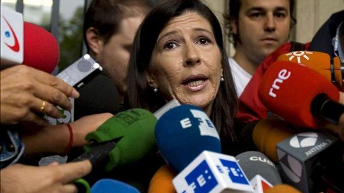 """Juana Gálvez, la secretaria judicial del llamado """"caso Mari Luz"""". EFE/Archivo"""