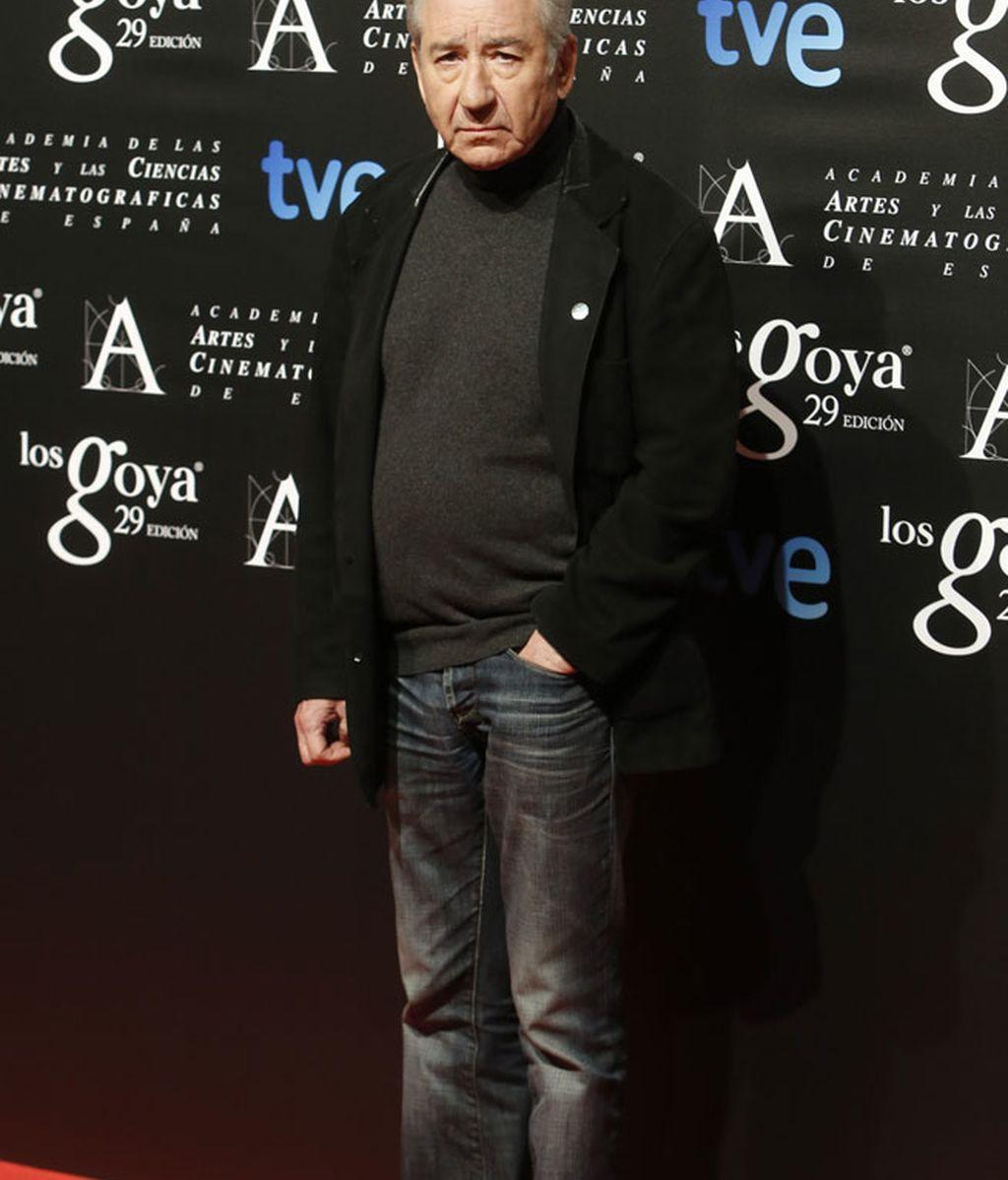 El actor Pepe Sacristán entre los invitados a la fiesta