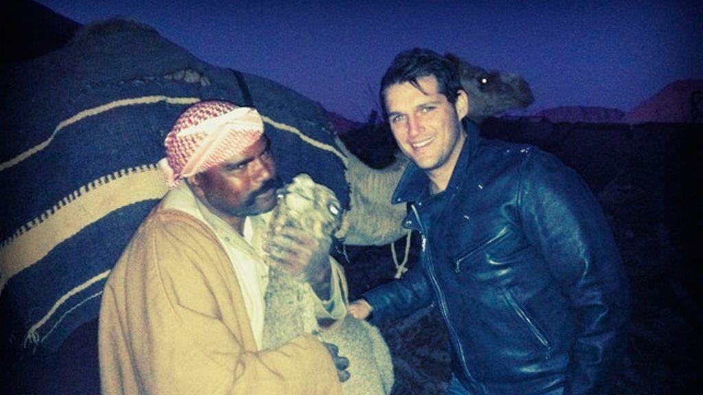 Perdidos con Manu Tenorio por los rincones de Jordania