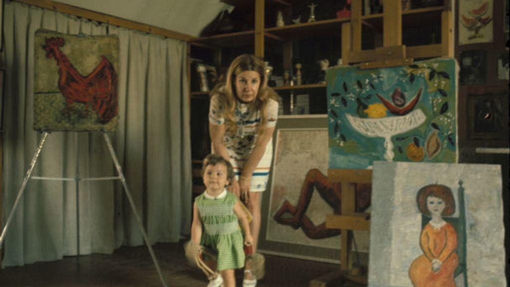 Durante una época se dedicó a la pintura