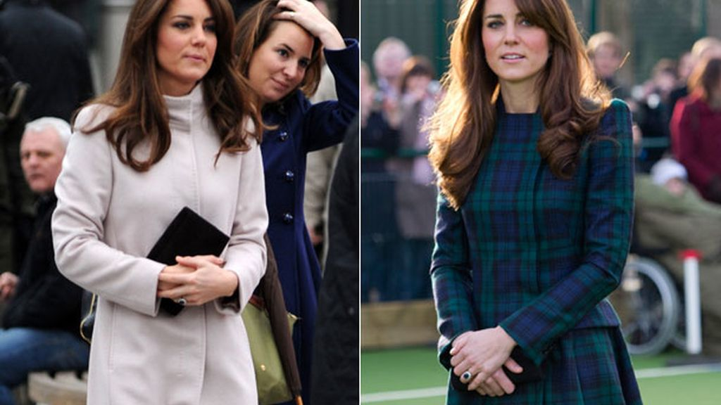 Kate Middleton, 'crossing' manos