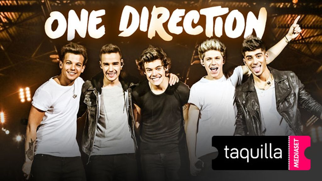 one direction taquilla