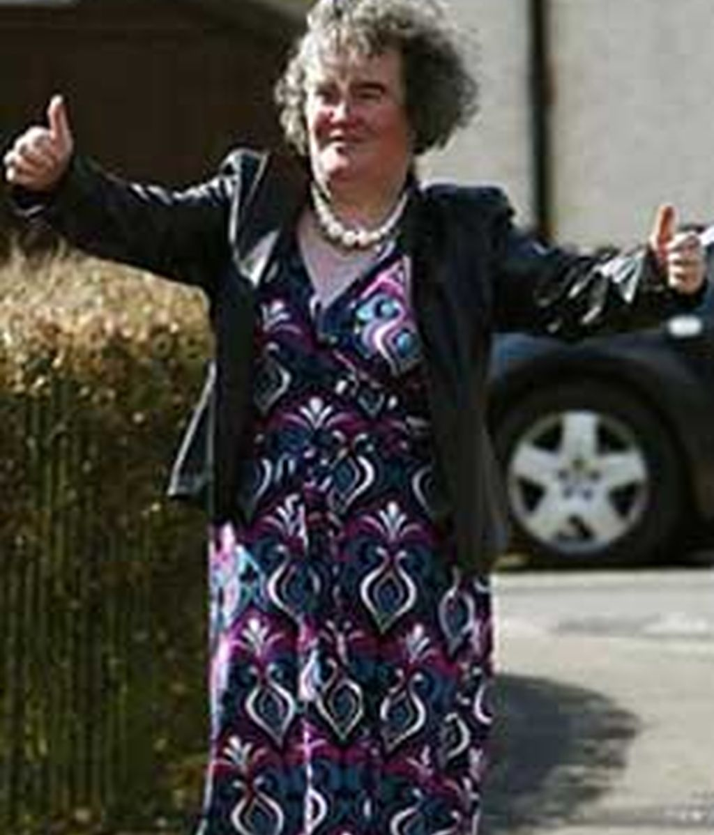 La británica Susan Boyle se ha convertido en uno de los personajes más famosos del panorama televisivo.