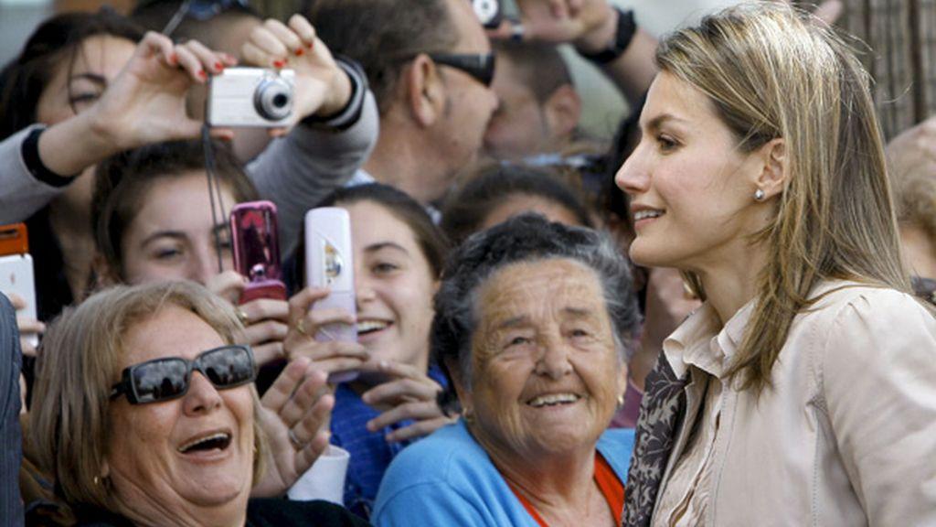 Huelva se vuelca con Doña Letizia