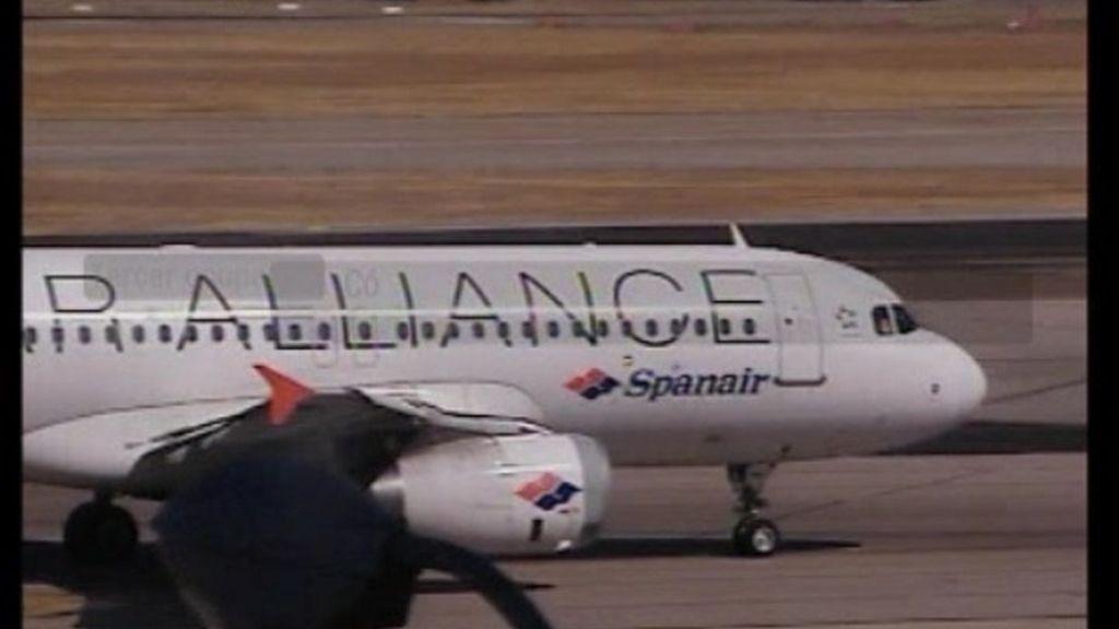 El accidente de Barajas se debió a una distracción de los pilotos