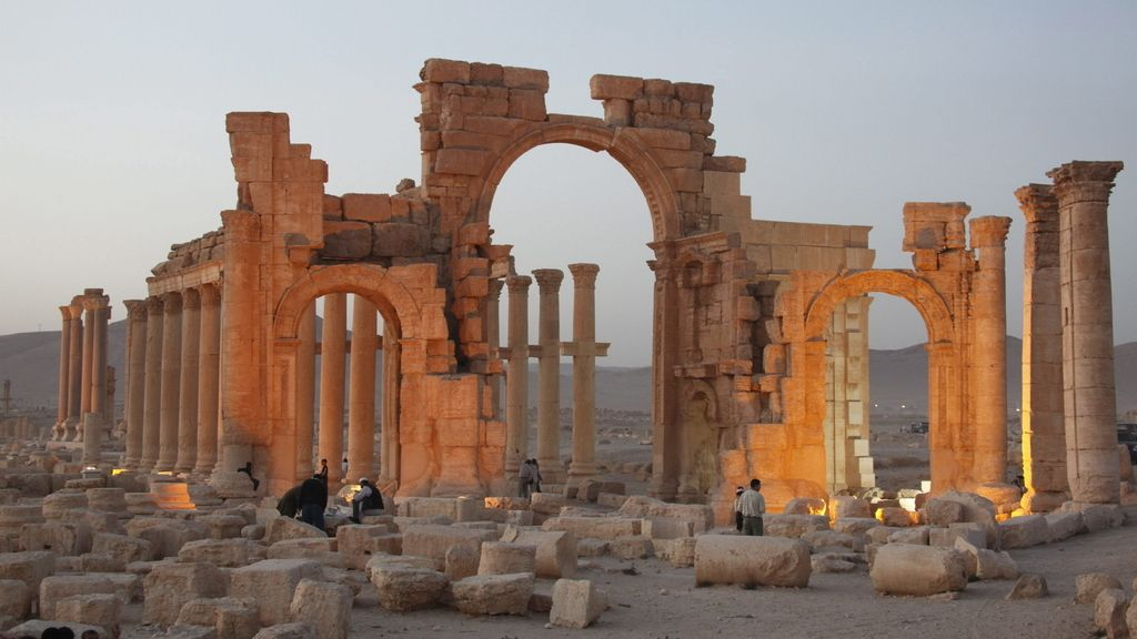 Palmira, la última joya arquitectónica tomada por el Estado Islámico