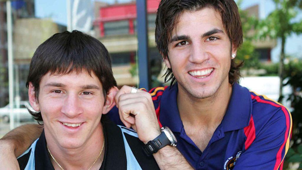 Hace años, en una convocatoria con la selección, bromeando con Messi