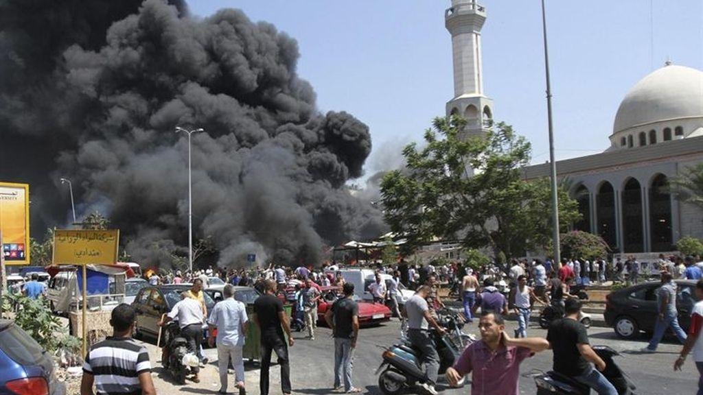 Al menos 27 muertos y 358 heridos en el doble atentado en Trípoli