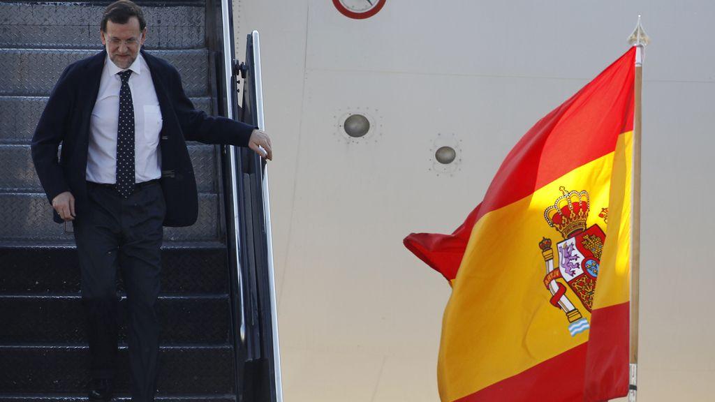 Llegada Mariano Rajoy cumbre OTAN (Reuters)