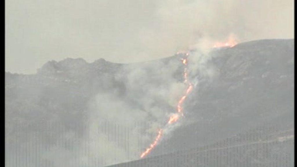 El incendio de Ourense prácticamente extinguido