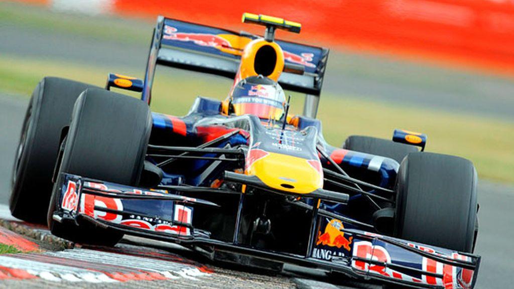 Vettel en los primeros libres