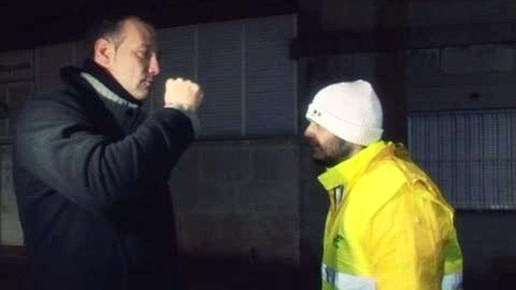 Andoni se enfrenta a Pedro García Aguado