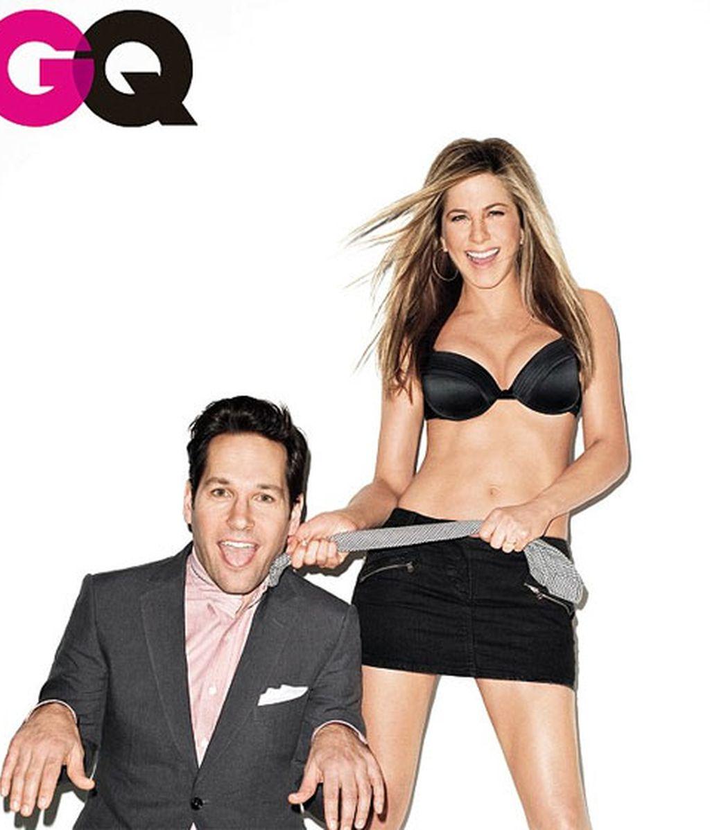 Jennifer Aniston, protagonista de la portada de la revista GQ