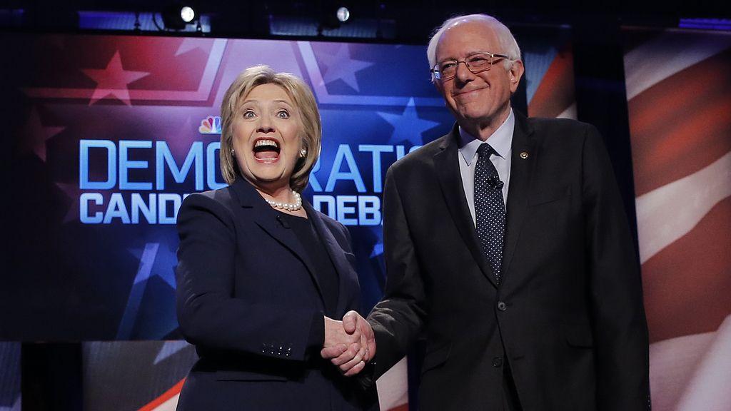 Sanders y Clinton se enfrentan en el último debate antes de las primarias en Nuevo Hampshire