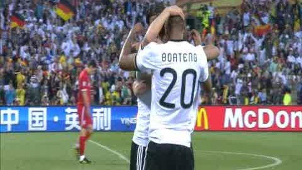 Octavos: Alemania 4 - 1 Inglaterra