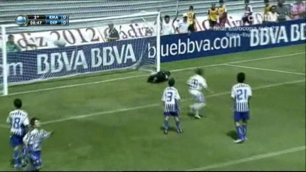 El Real Madrid gana su primer partido