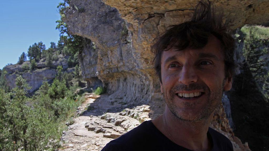 El Cañón del Río Lobos es uno de los lugares favoritos del actor Carlos Chamarro
