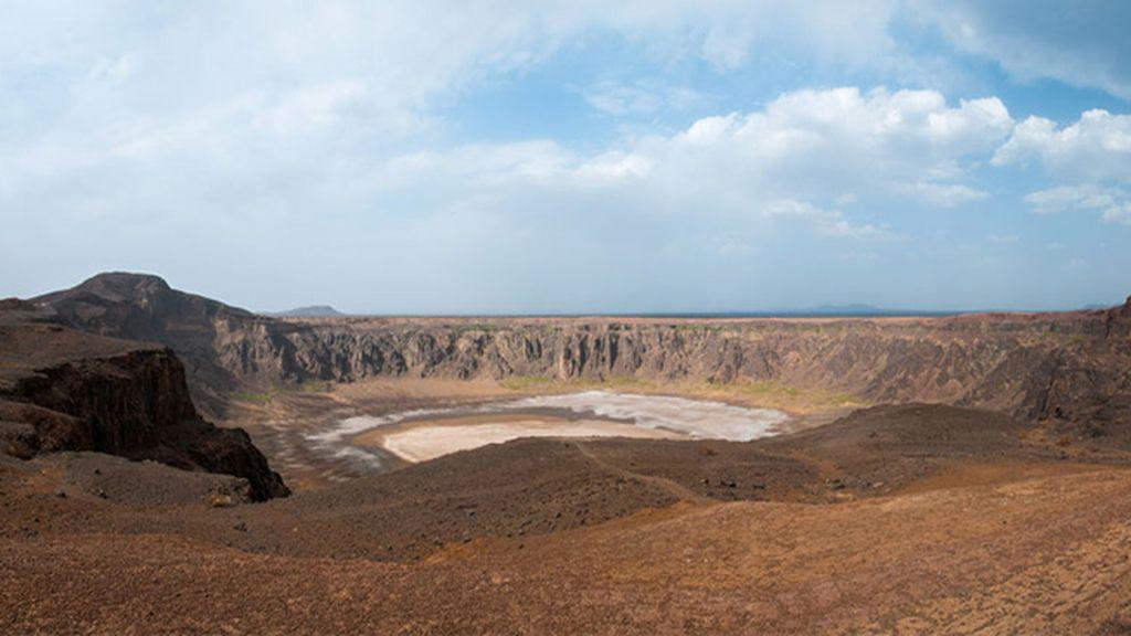 Cráter de Wahba, en Arabia Saudita.