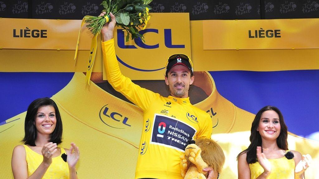 Fabian Cancellara, mallot amarillo (EFE)