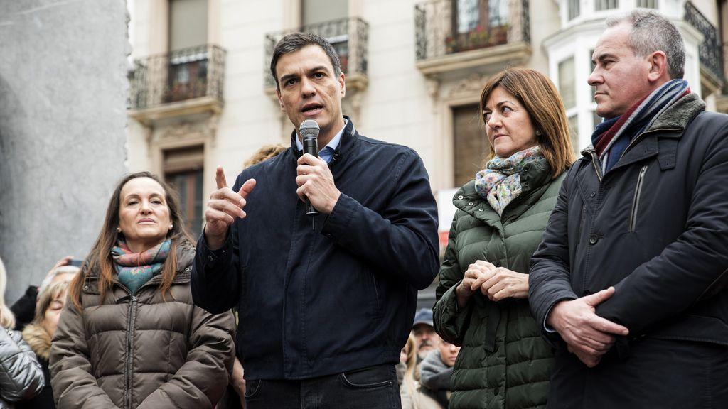 Pedro Sánchez, candidato a la Moncloa del PSOE