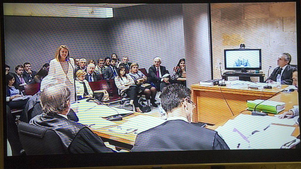 María Dolores de Cospedal declara ante el juez