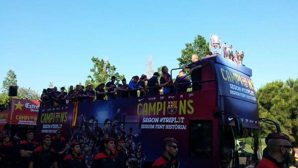 Celebración 'Champions'