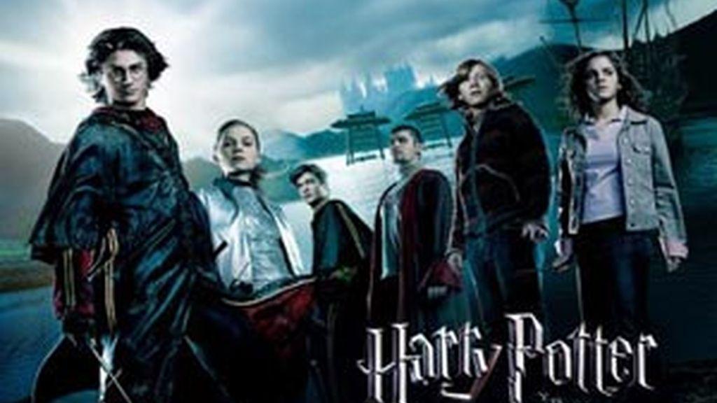 Portada de la película Harry Potter y el cáliz de fuego