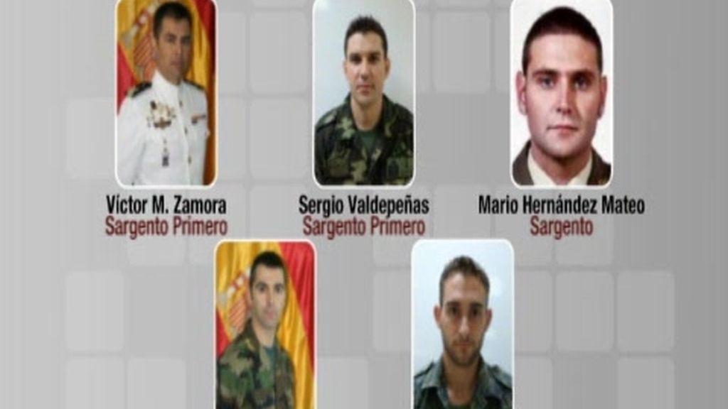 Terminan las autopsias a los militares fallecidos en Hoyo de Manzanares