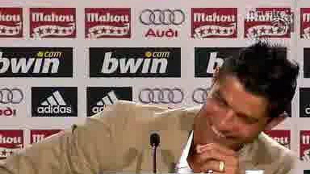 Cristiano Ronaldo y su internacional rueda de prensa